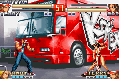 The King of Fighters EX2 - Howling Blood Screenshot 2