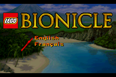 LEGO Bionicle Title Screen