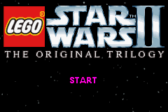 LEGO Star Wars II - The Original Trilogy Title Screen