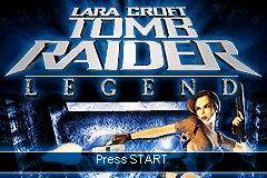 Lara Croft Tomb Raider - Legend Title Screen