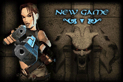 Lara Croft Tomb Raider - The Prophecy Title Screen
