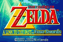 Legend of Zelda, The - A Link to the Past & Four Swords