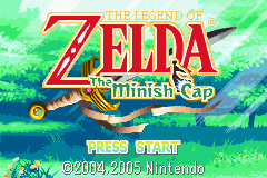 The Legend of Zelda - The Minish Cap (demo) Title Screen