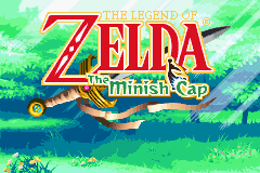 The Legend of Zelda - The Minish Cap Title Screen