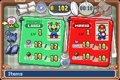 Mario Luigi Superstar Saga Gba Game Game Boy Advance