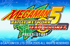 Mega Man Battle Network 5 Team Colonel