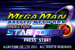 Play <b>Mega Man Battle Network 6 - BA Crossover</b> Online