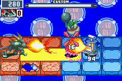 Megaman Battle Network 6 Cybeast Gregar Screenshot 2