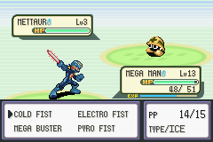 Mega Man Battle Network 7 (Pokemon hack demo)