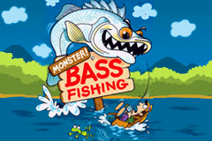 Monster! Bass Fishing Title Screen