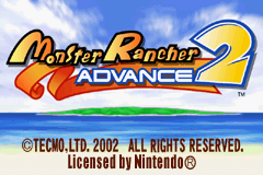 Monster Rancher Advance 2 Title Screen