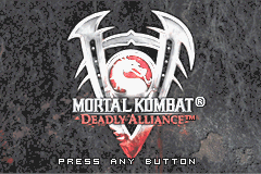 Mortal Kombat - Deadly Alliance Title Screen