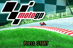Moto GP Title Screen
