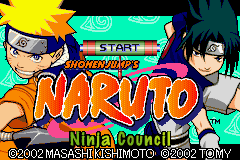 Naruto - Ninja Council Title Screen