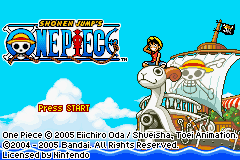 One Piece Title Screen
