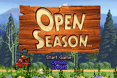 Open Season Title Screen