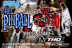 The Pinball of the Dead Title Screen