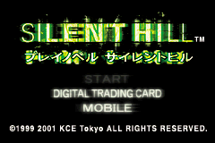 Play Novel - Silent Hill