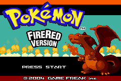 Pokemon - Yet Another Fire Red Hack Title Screen