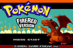 Pokemon Alt Evo Fire Red Title Screen
