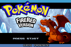 Pokemon Azure Horizons (beta 2) Title Screen