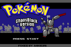 Pokemon Chaos Black (fixed)