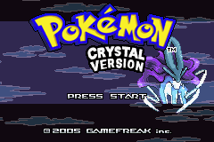 Pokemon Crystal Shards (English beta 1)