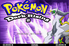 Pokemon Dark Rising 2 (beta 2) Title Screen