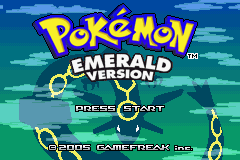 Pokemon Emerald Title Screen
