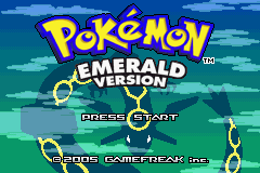 Pokemon Expert Emerald (Old beta 8.0) Title Screen