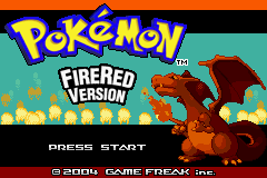 Pokemon Fire Red Omega Title Screen