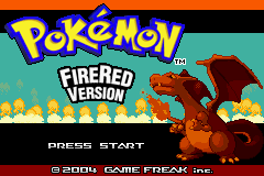 Pokemon Furious Flames (Beta 2.20) Title Screen