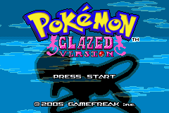 Pokemon Glazed (beta 3) Title Screen