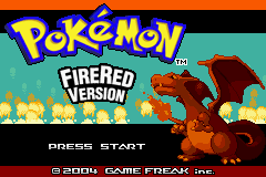 Pokemon Legends Title Screen