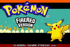 Pokemon Lightning Yellow (beta v0.12) Title Screen