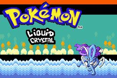 Pokemon Liquid Crystal (alpha) Title Screen