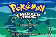 Pokemon Saga - DarkViolet (beta 1) Title Screen