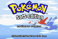 Pokemon Sovereign of the Skies (German - beta 1) Title Screen