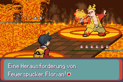 Pokemon Sovereign of the Skies (German - beta 1) Screenshot 1