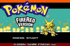 Pokemon Stadium Advanced (Beta 1.1) Title Screen