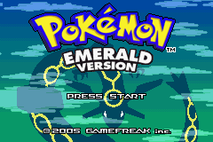 Pokemon Tiberium Title Screen