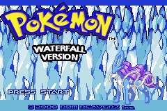 Pokemon Waterfall (beta) Title Screen