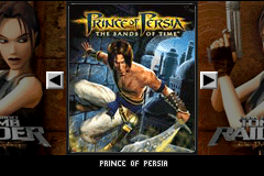 Prince of Persia - The Sands of Time & Lara Croft - Tomb Raider