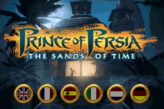 Prince of Persia - The Sands of Time Title Screen