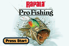 Rapala Pro Fishing Title Screen