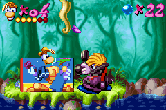 Rayman Advance Screenthot 2