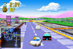 The Simpsons - Road Rage Screenshot 3