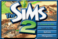 The Sims 2 Title Screen