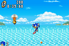 Sonic Advance (europe) Screenshot 2