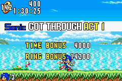 Sonic Advance (europe) Screenshot 3